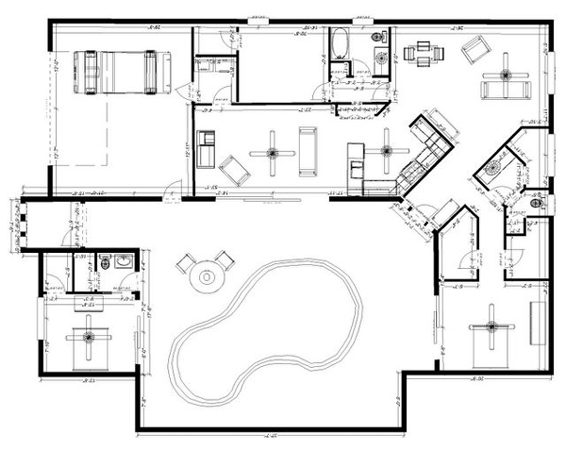 f36 Florida Courtyard Home Floor Plans on florida pool home plans, florida duplex plans, florida house plans,